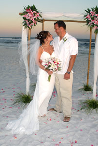 Another happy couple married in Destin Florida
